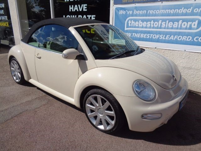 used VW Beetle CABRIOLET TDI in anwick