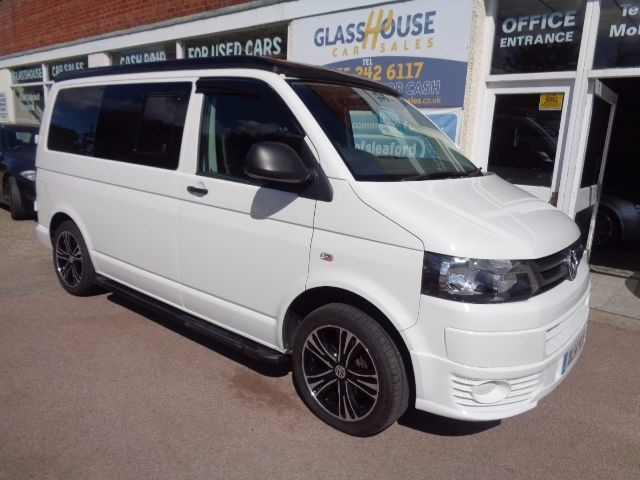 Used White VW Campervan For Sale