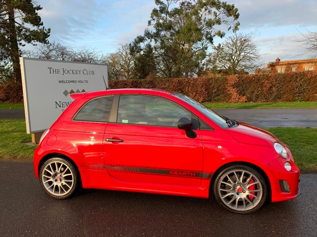 used Abarth 595 T-Jet Competizione 3dr in newmarket-suffolk