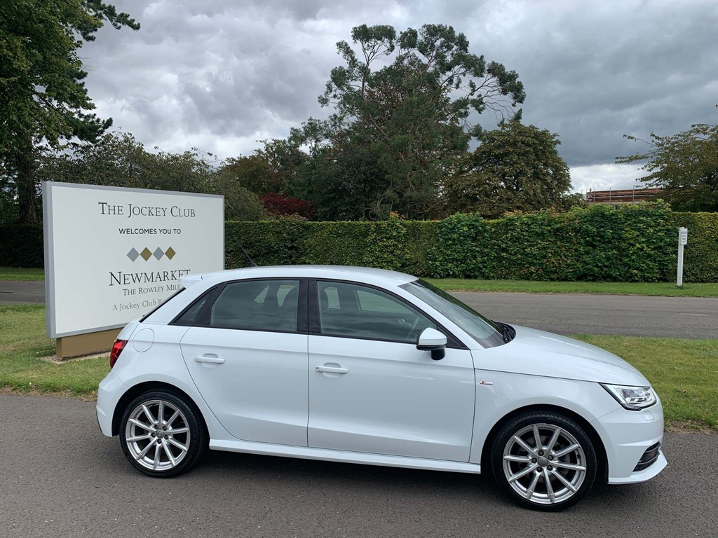 used Audi A1 TFSI S line Sportback (s/s) in newmarket-suffolk