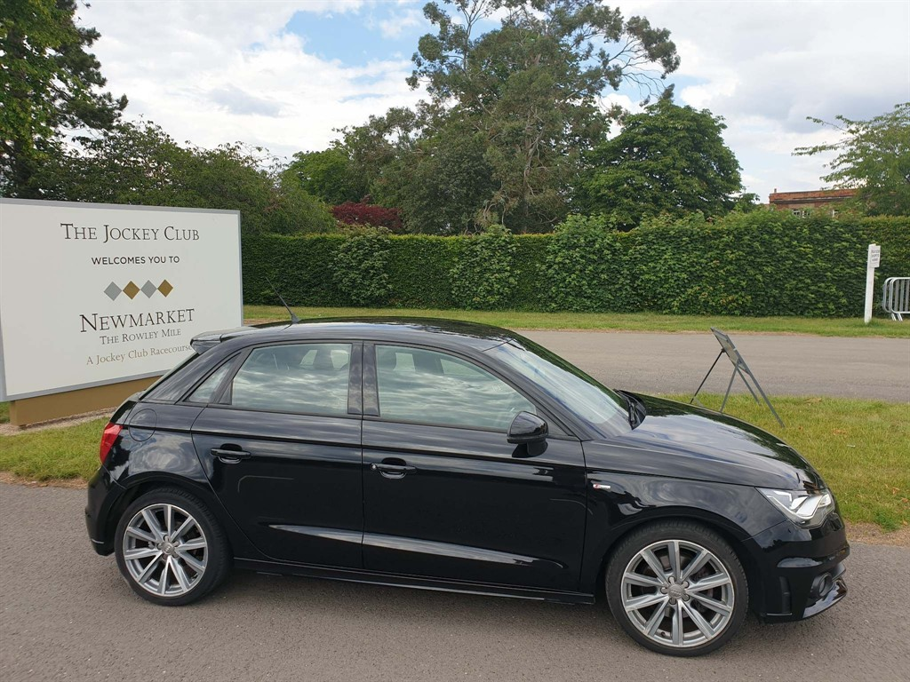 used Audi A1 TFSI S line Style Edition Sportback in newmarket-suffolk