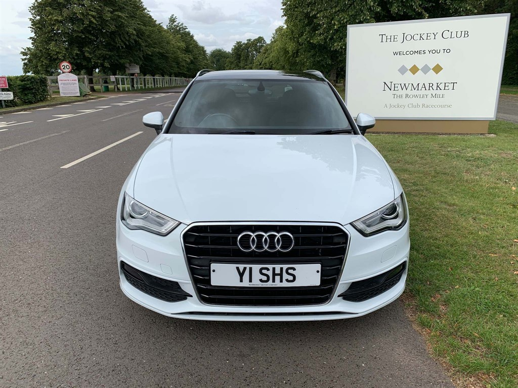used Audi A3 TDI S line Sportback Tronic 5dr in newmarket-suffolk