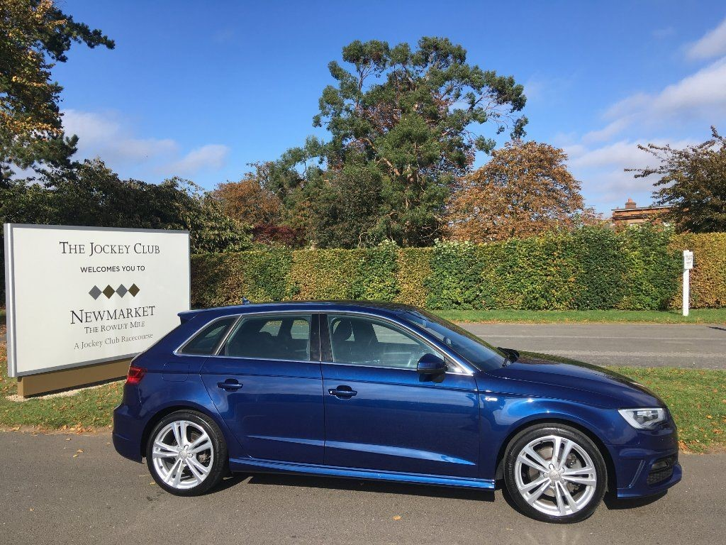 used Audi Quattro A3 TFSI S line Sportback Tronic 5dr (Nav) in newmarket-suffolk