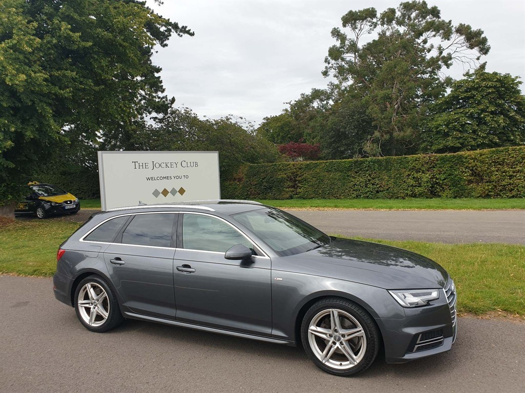 used Audi A4 Avant S line Avant (s/s) in newmarket-suffolk