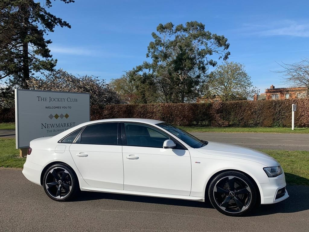 used Audi A4 TDI Black Edition 4dr in newmarket-suffolk