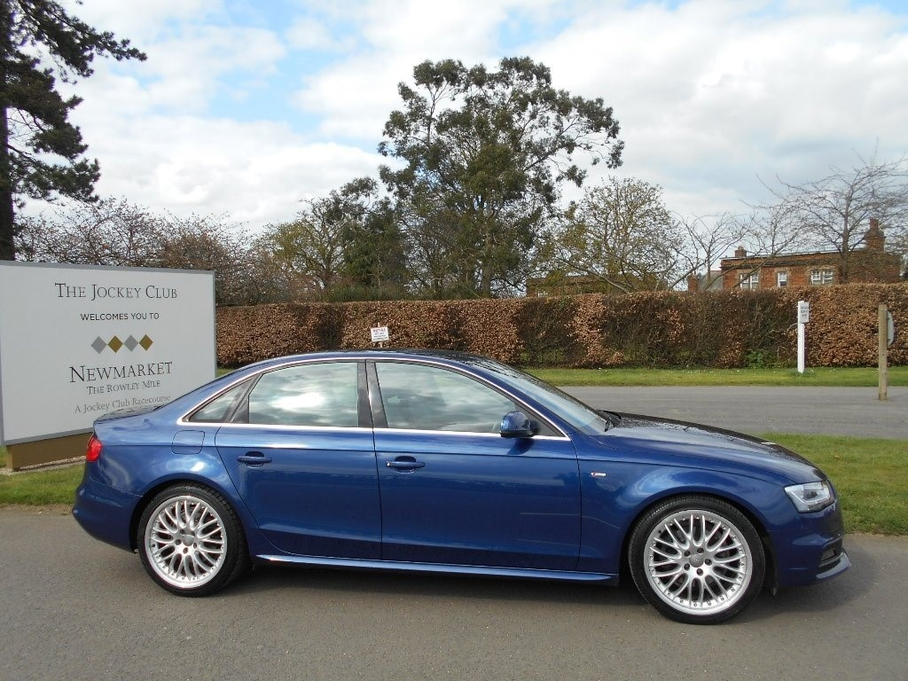 used Audi A4 TDI S Line 4dr in newmarket-suffolk