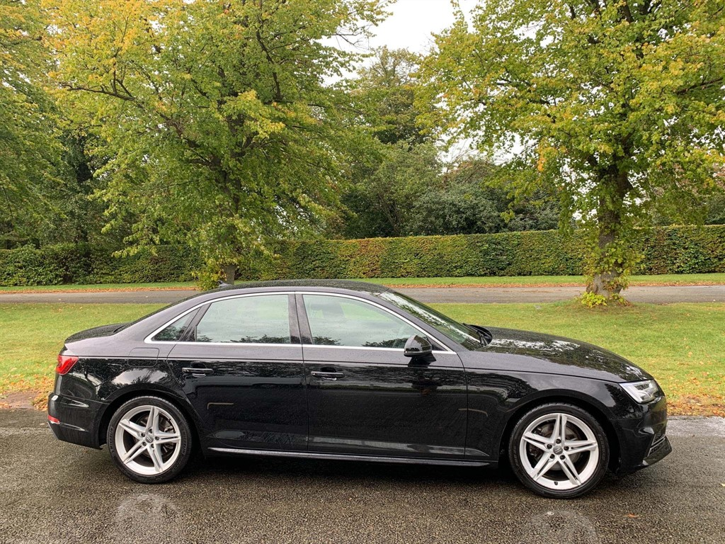 used Audi A4 TFSI S line S Tronic (s/s) in newmarket-suffolk