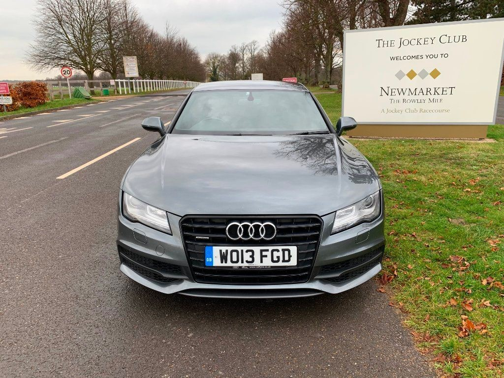 used Audi A7 TDI Black Edition Sportback S Tronic Quattro 5dr in newmarket-suffolk