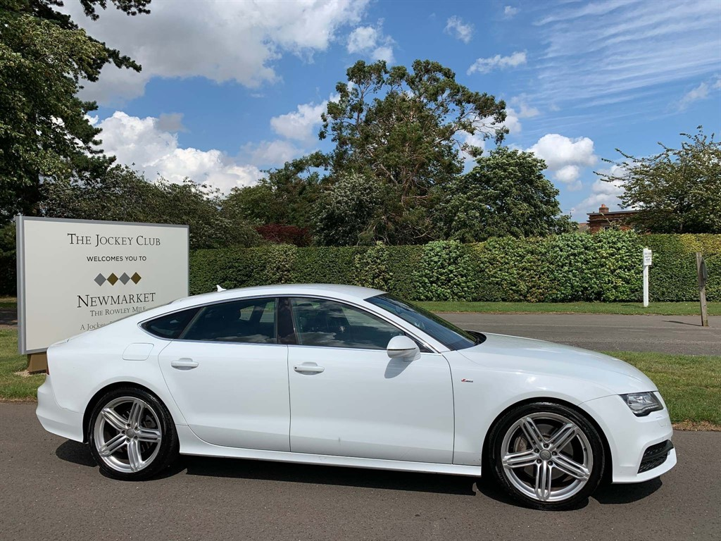 used Audi A7 TFSI S line Sportback Tronic quattro 5dr in newmarket-suffolk