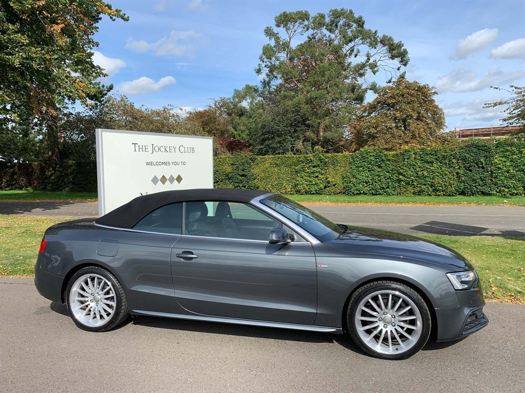 used Audi Cabriolet S line Cabriolet in newmarket-suffolk