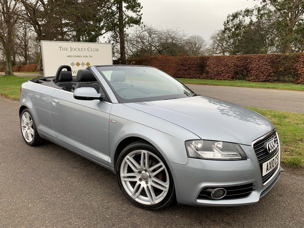 used Audi Cabriolet S line S Tronic in newmarket-suffolk