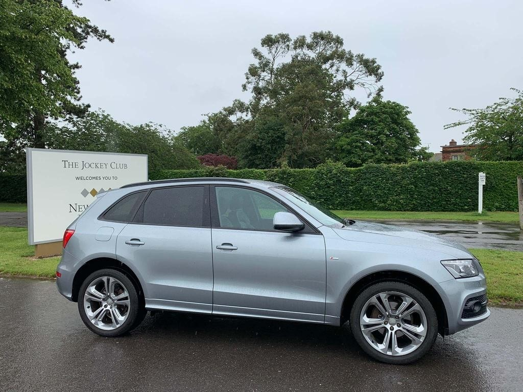 used Audi Q5 TDI S line Special Edition Tronic quattro 5dr in newmarket-suffolk
