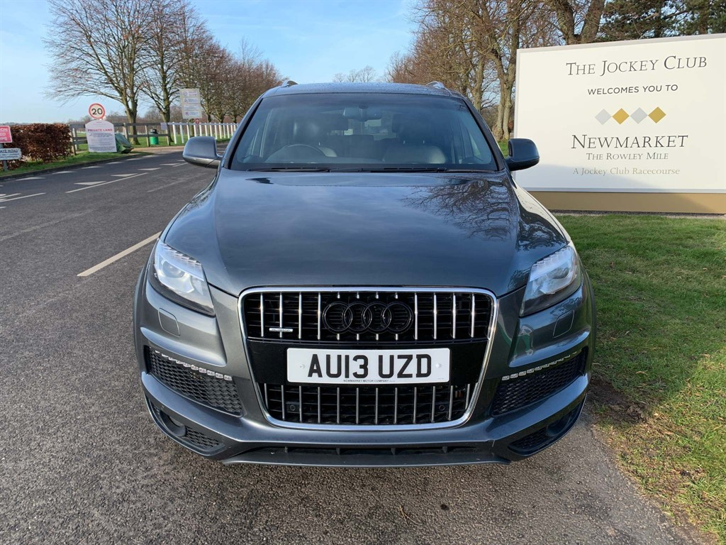 used Audi Q7 S line Plus quattro in newmarket-suffolk