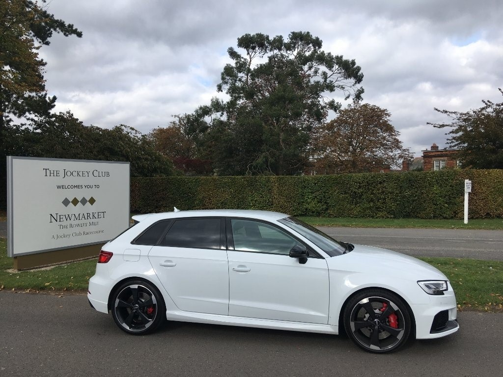used Audi RS3 TFSI Sportback S Tronic Quattro 5dr in newmarket-suffolk