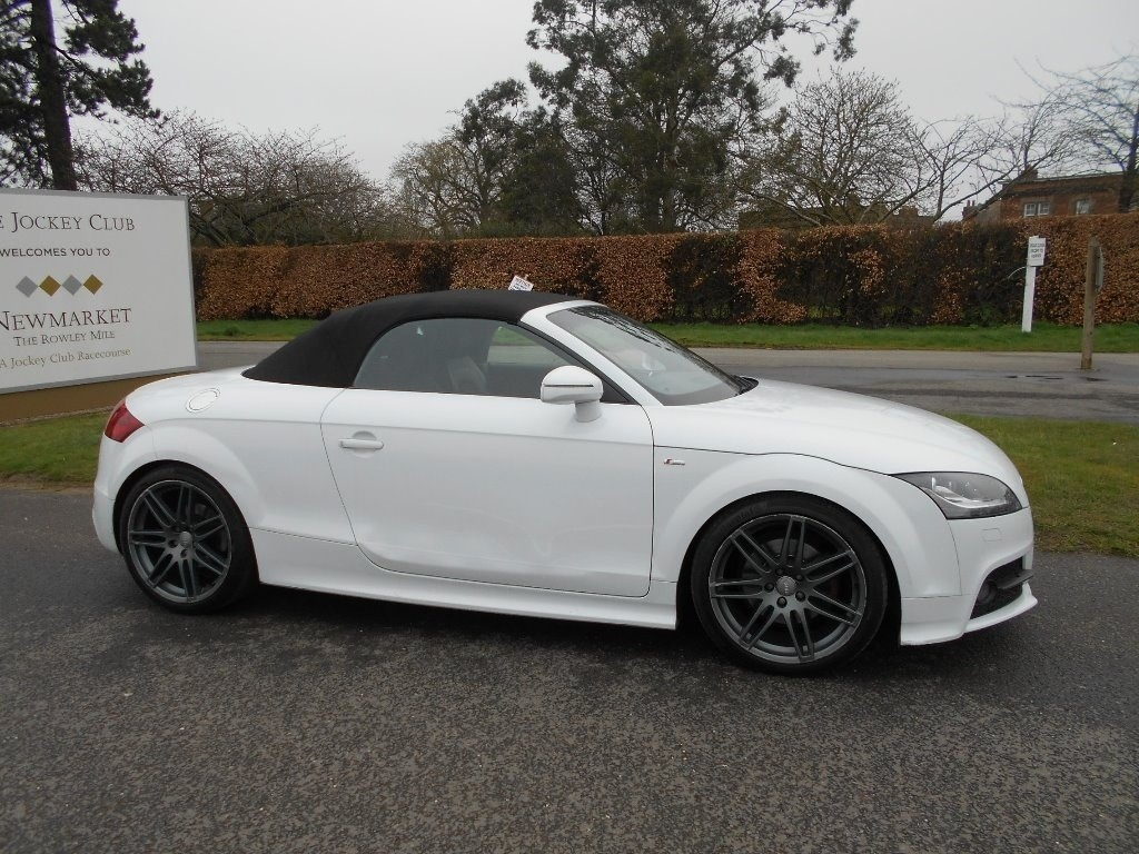 used Audi TT TD Black Edition Roadster 2dr in newmarket-suffolk