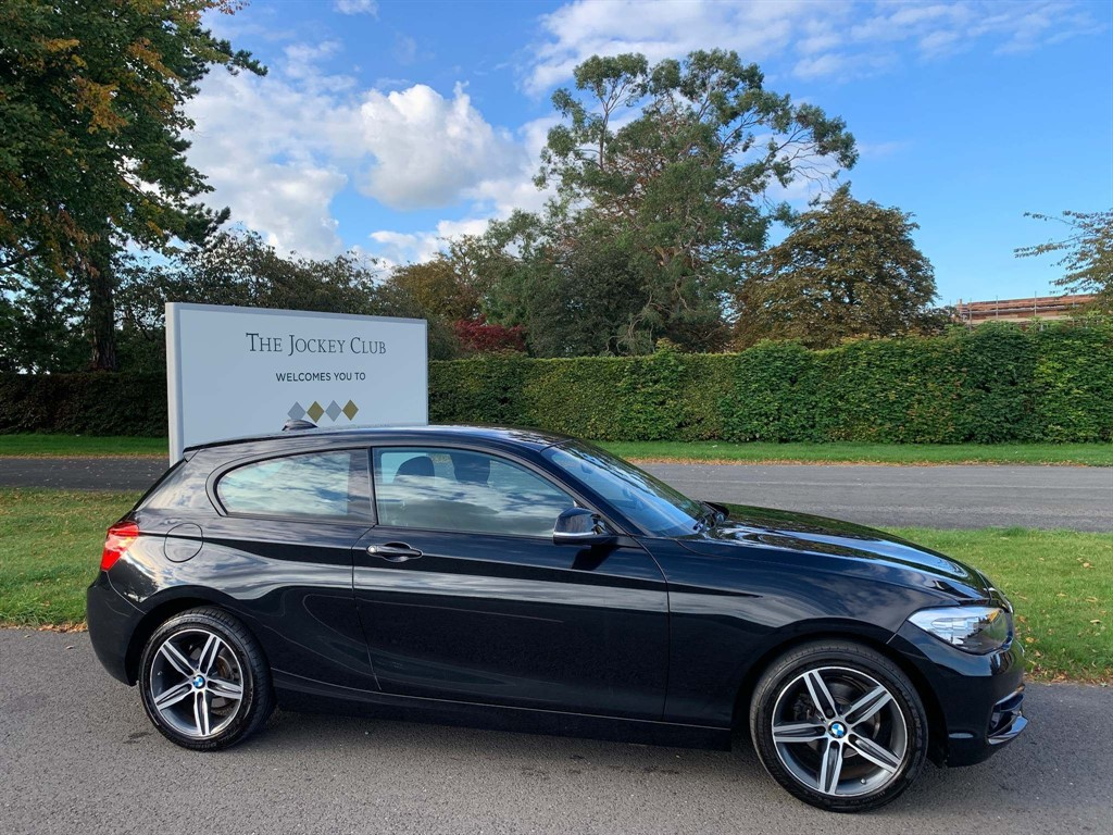 used BMW 116d Sport (s/s) in newmarket-suffolk