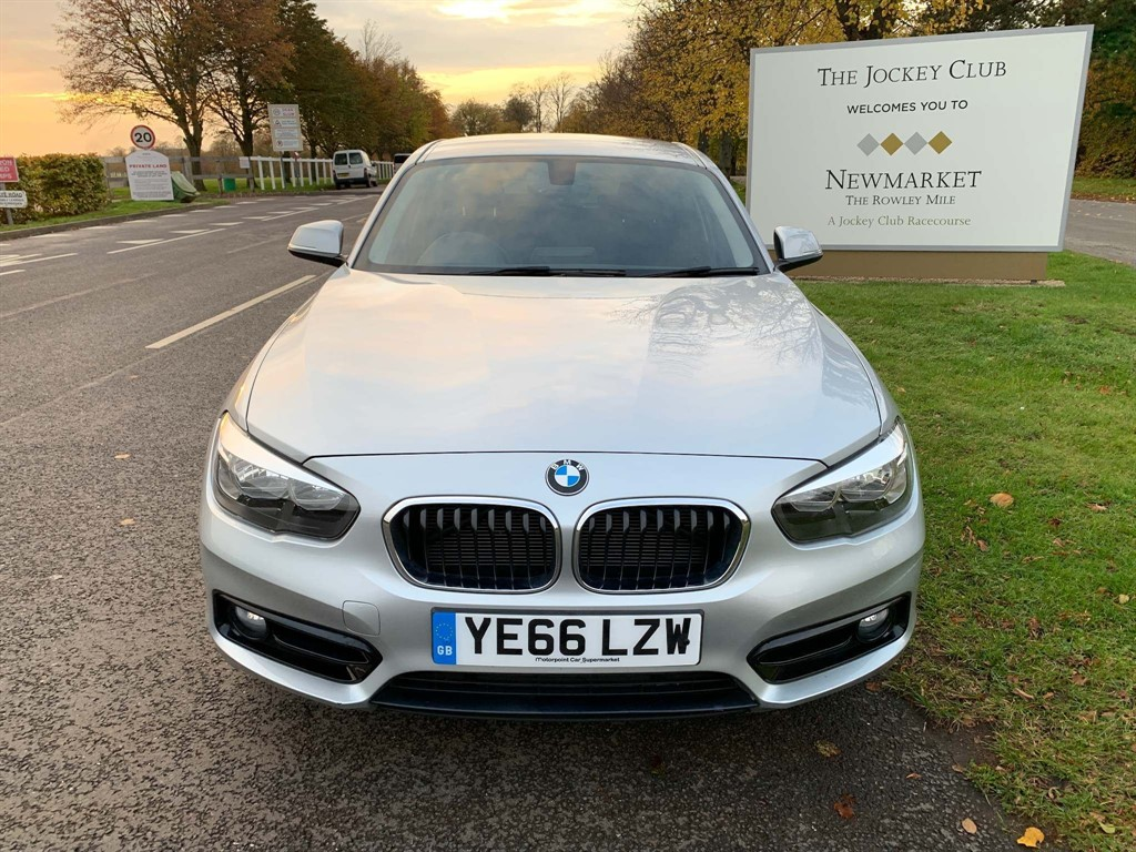 used BMW 118i Sport (s/s) in newmarket-suffolk
