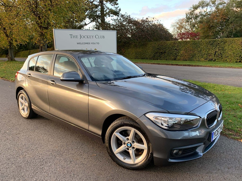 used BMW 118i 1 Series SE Sports Hatch Auto (s/s) 5dr in newmarket-suffolk