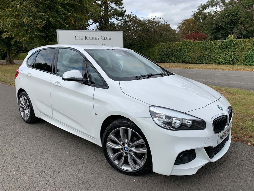 used BMW 218d 2 Series Active Tourer M Sport (s/s) 5dr in newmarket-suffolk