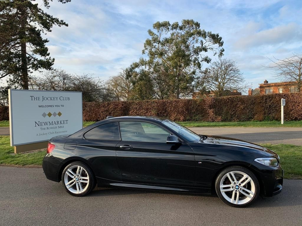 used BMW 218i 2 Series M Sport Auto (s/s) 2dr in newmarket-suffolk