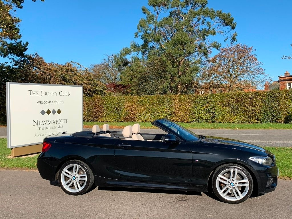 used BMW 220d 2 Series M Sport Auto (s/s) 2dr in newmarket-suffolk