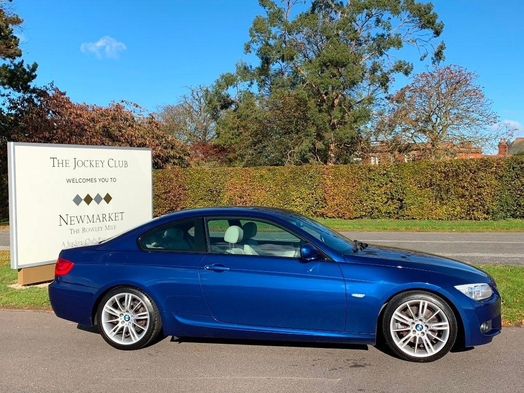 used BMW 325i 3 Series M Sport 2dr in newmarket-suffolk