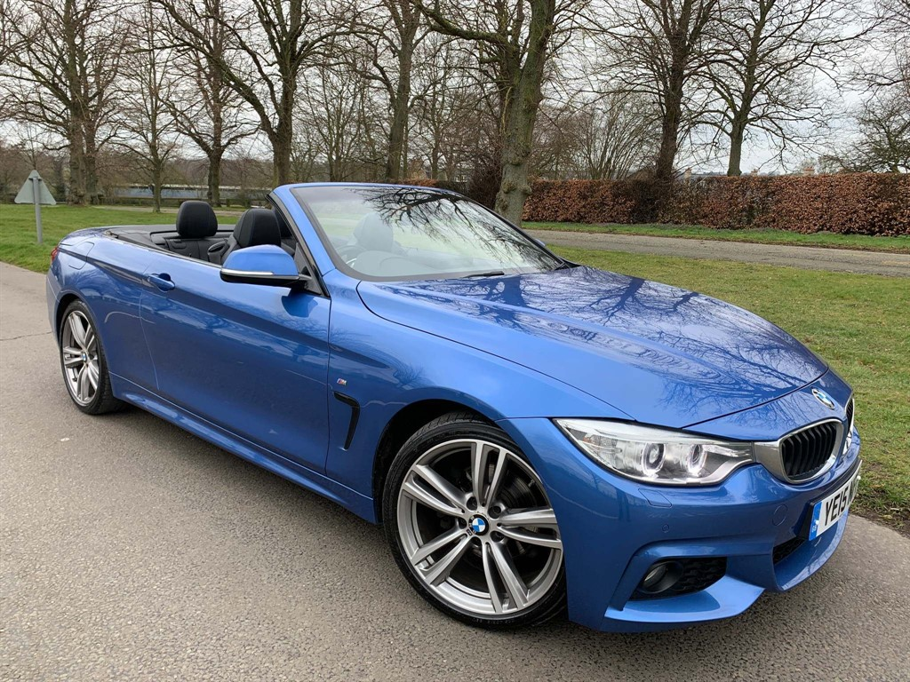 used BMW 420d M Sport in newmarket-suffolk