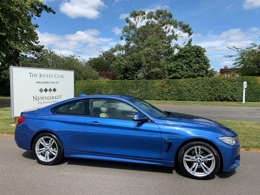 used BMW 420d 4 Series M Sport xDrive 2dr in newmarket-suffolk