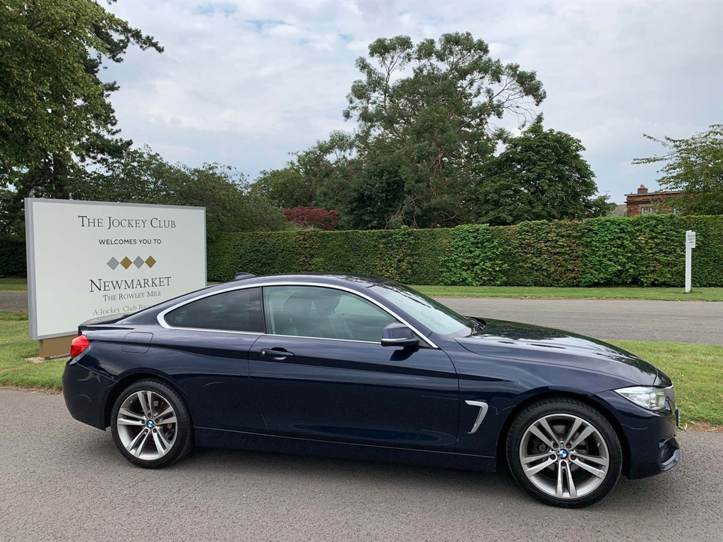 used BMW 420i 4 Series Sport xDrive 2dr in newmarket-suffolk