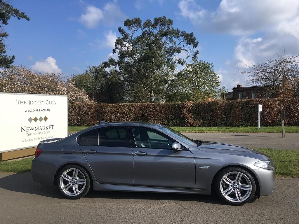 used BMW 520d 5 Series M Sport 4dr in newmarket-suffolk