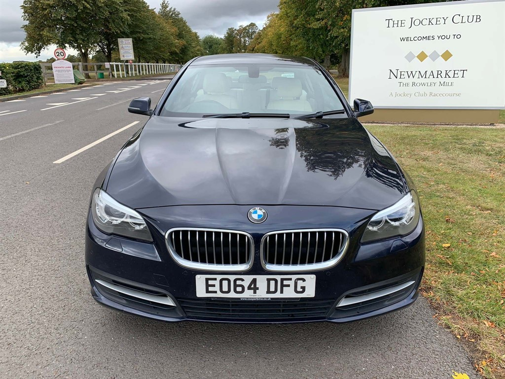 used BMW 520d 5 Series SE 4dr in newmarket-suffolk