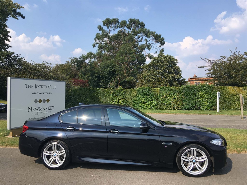 used BMW 535d 5 Series M Sport 4dr in newmarket-suffolk