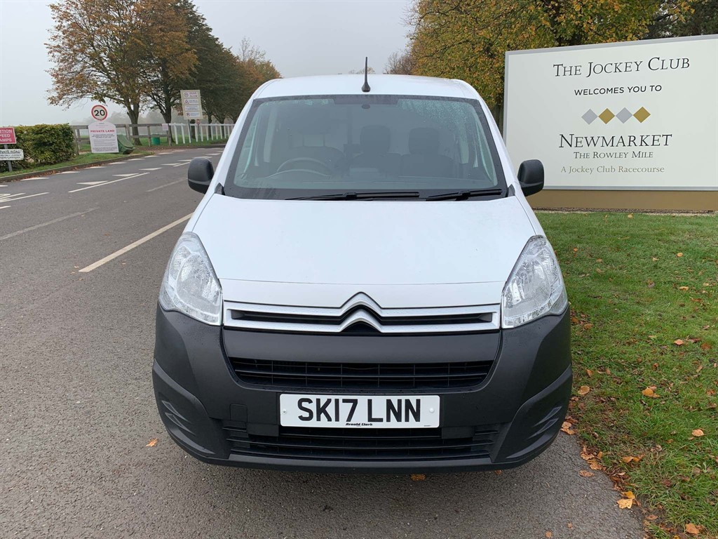 used Citroen Berlingo BlueHDi L1 625 Enterprise (EU6) in newmarket-suffolk