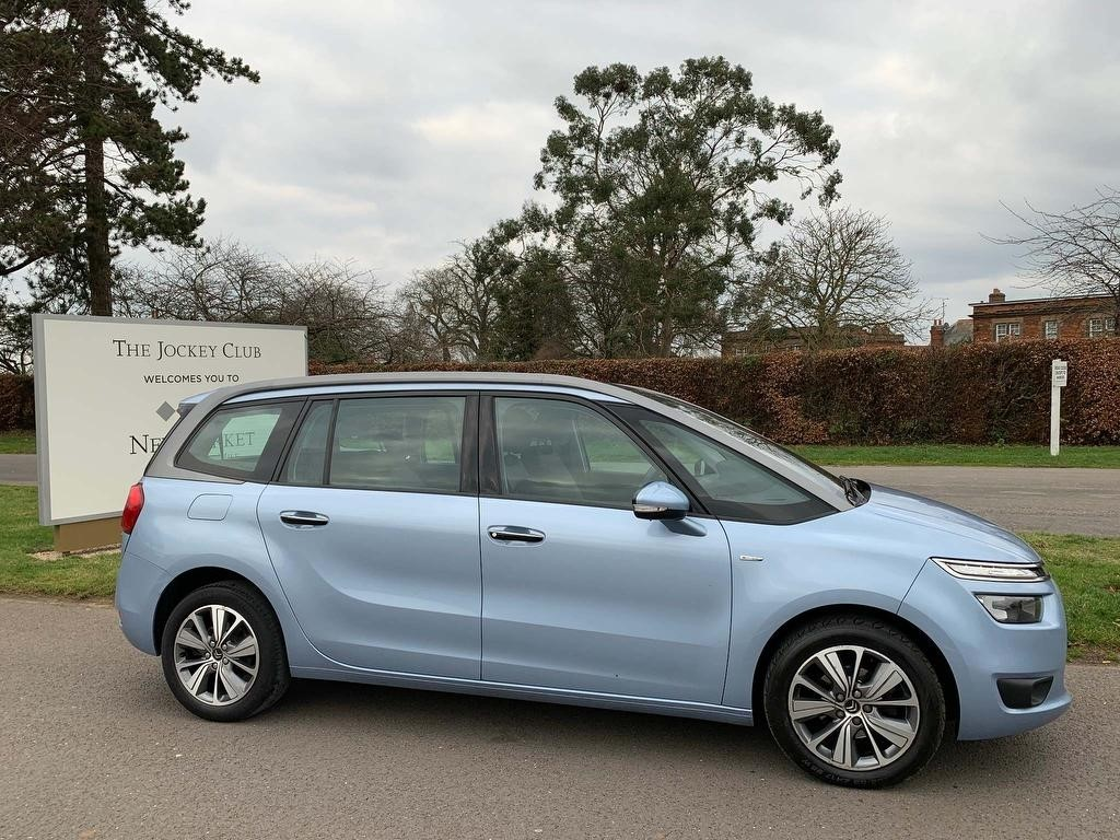 used Citroen Grand C4 Picasso e-HDi Airdream Exclusive 5dr in newmarket-suffolk