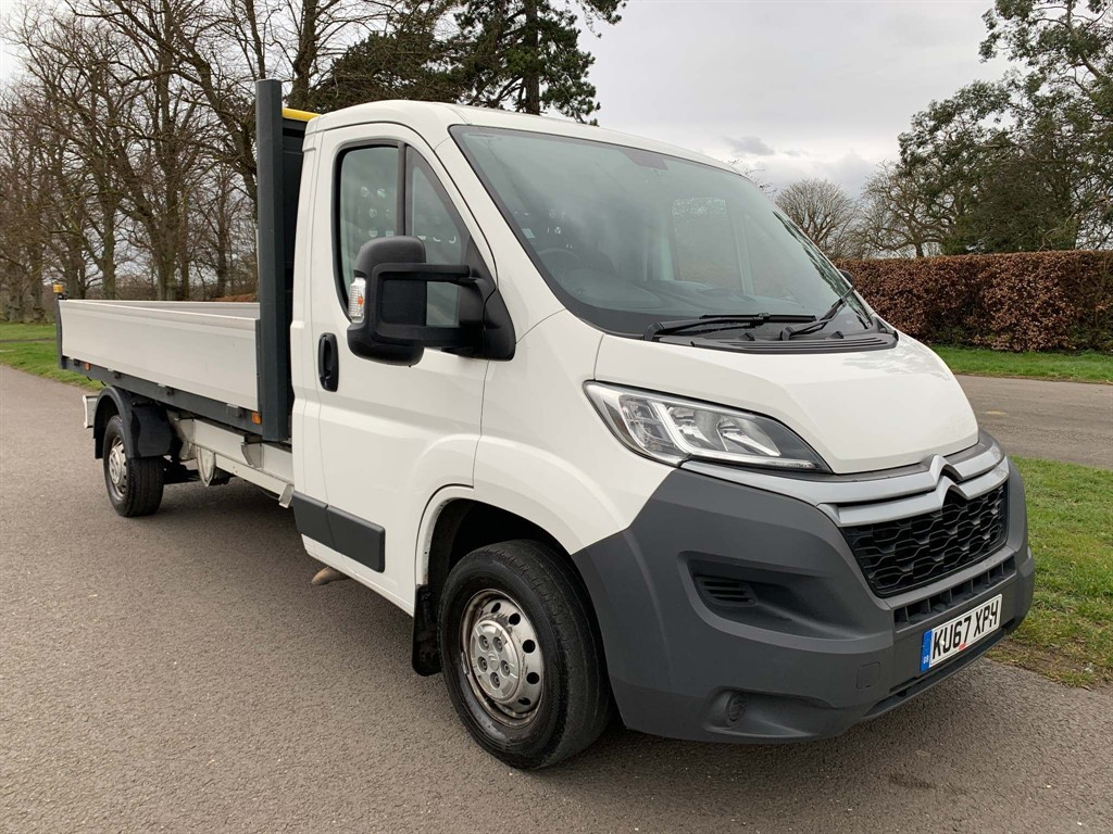 used Citroen Relay HDi 35 L3 Dropside Truck in newmarket-suffolk