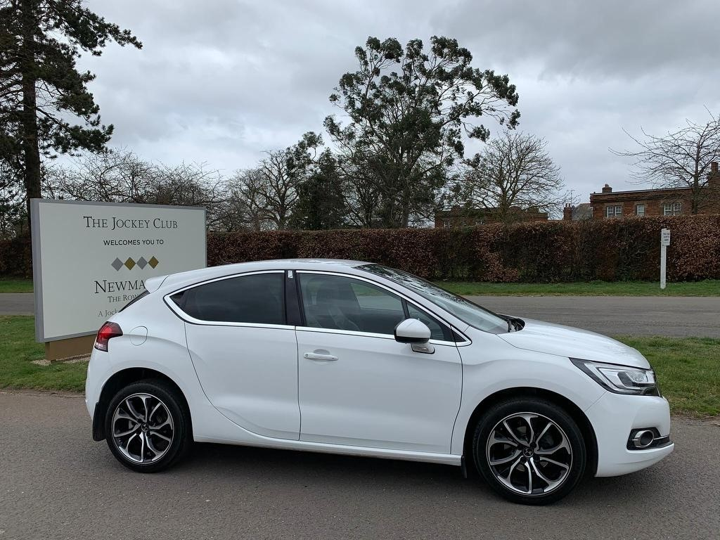 used DS 4 BlueHDi Prestige EAT6 (s/s) 5dr in newmarket-suffolk