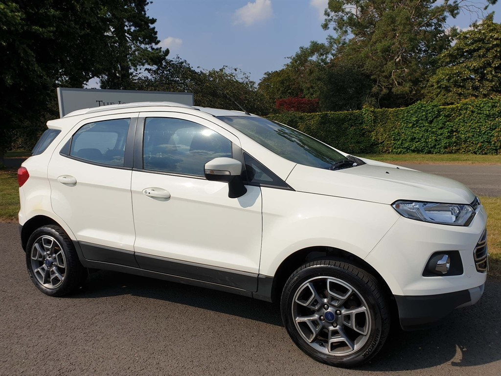 used Ford EcoSport T EcoBoost Titanium in newmarket-suffolk