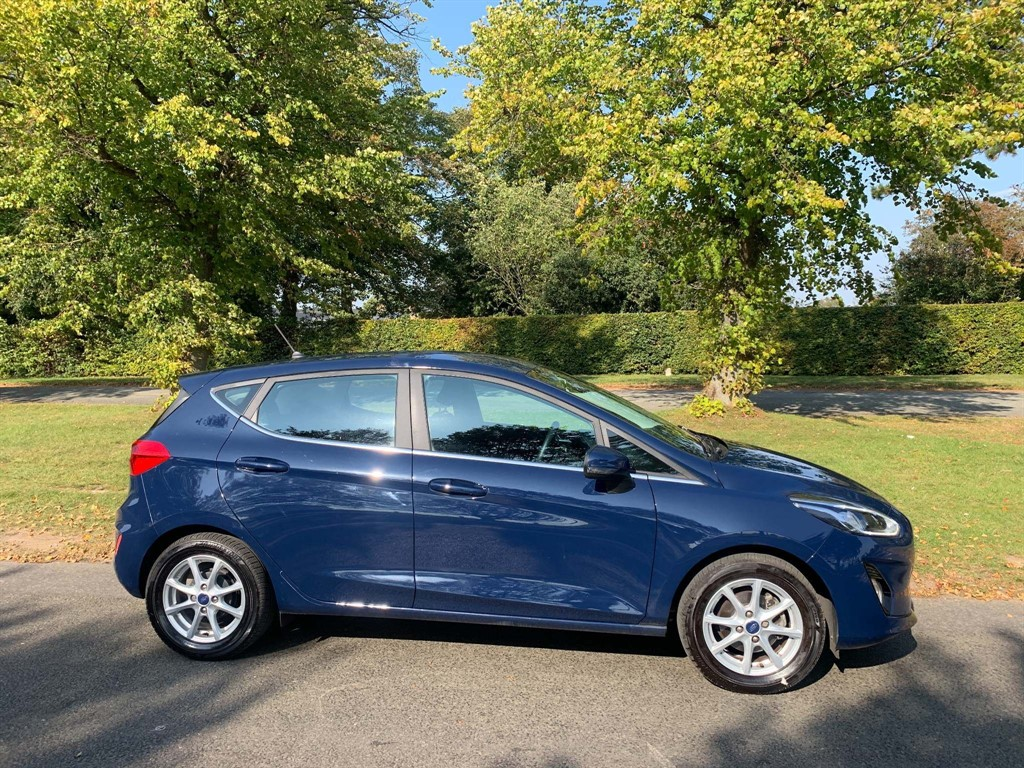 used Ford Fiesta 1.1 Ti-VCT Zetec (s/s) in newmarket-suffolk