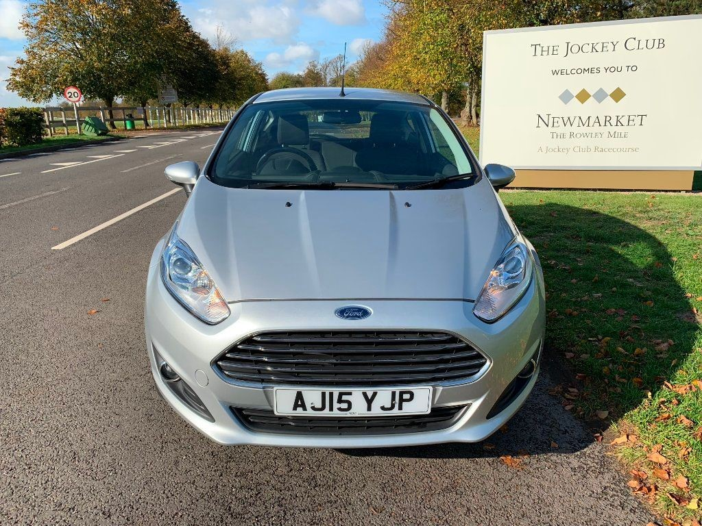 used Ford Fiesta Zetec 3dr in newmarket-suffolk