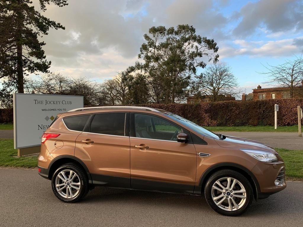 used Ford Kuga TDCi Titanium X AWD 5dr in newmarket-suffolk