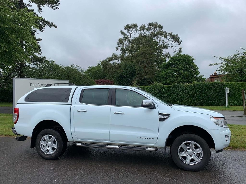 used Ford Ranger TDCi Limited Double Cab Pickup 4x4 4dr (EU5) in newmarket-suffolk