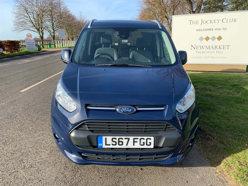 used Ford Tourneo Connect EcoBoost Titanium Red Edition (s/s) 5dr in newmarket-suffolk
