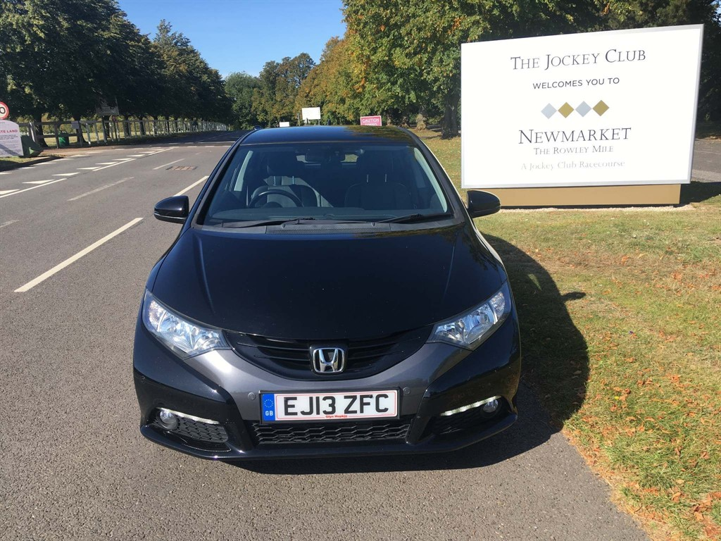 used Honda Civic i-VTEC EX 5dr in newmarket-suffolk
