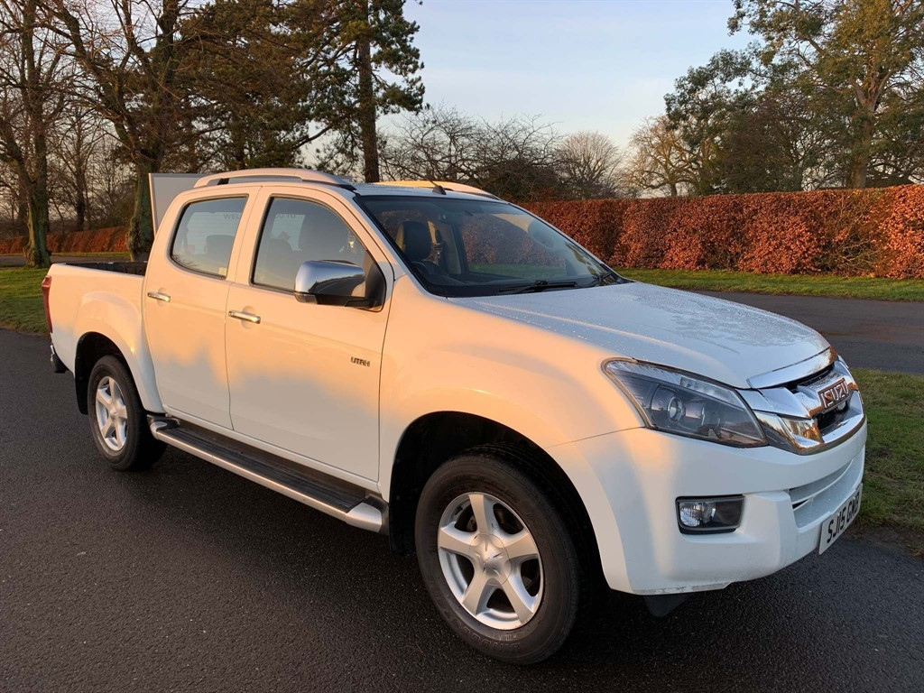 used Isuzu D-Max Utah Vision Double Cab Pickup 4x4 in newmarket-suffolk
