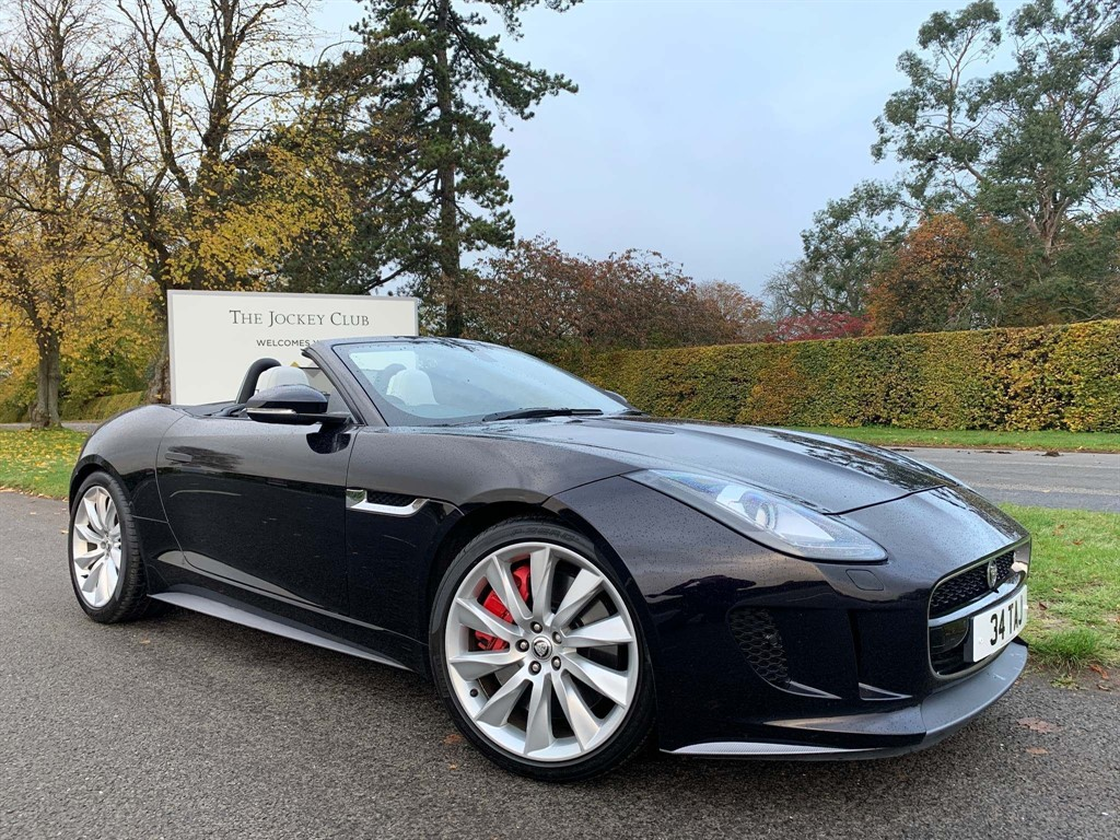 used Jaguar F-Type V8 S Quickshift in newmarket-suffolk