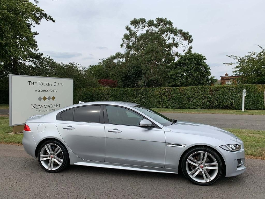 used Jaguar XE 2.0d R-Sport Auto (s/s) 4dr in newmarket-suffolk