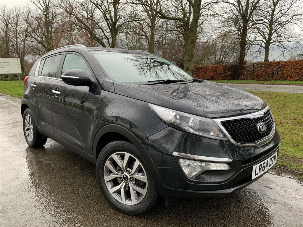 used Kia Sportage CRDi 2 (s/s) 5dr ISG in newmarket-suffolk