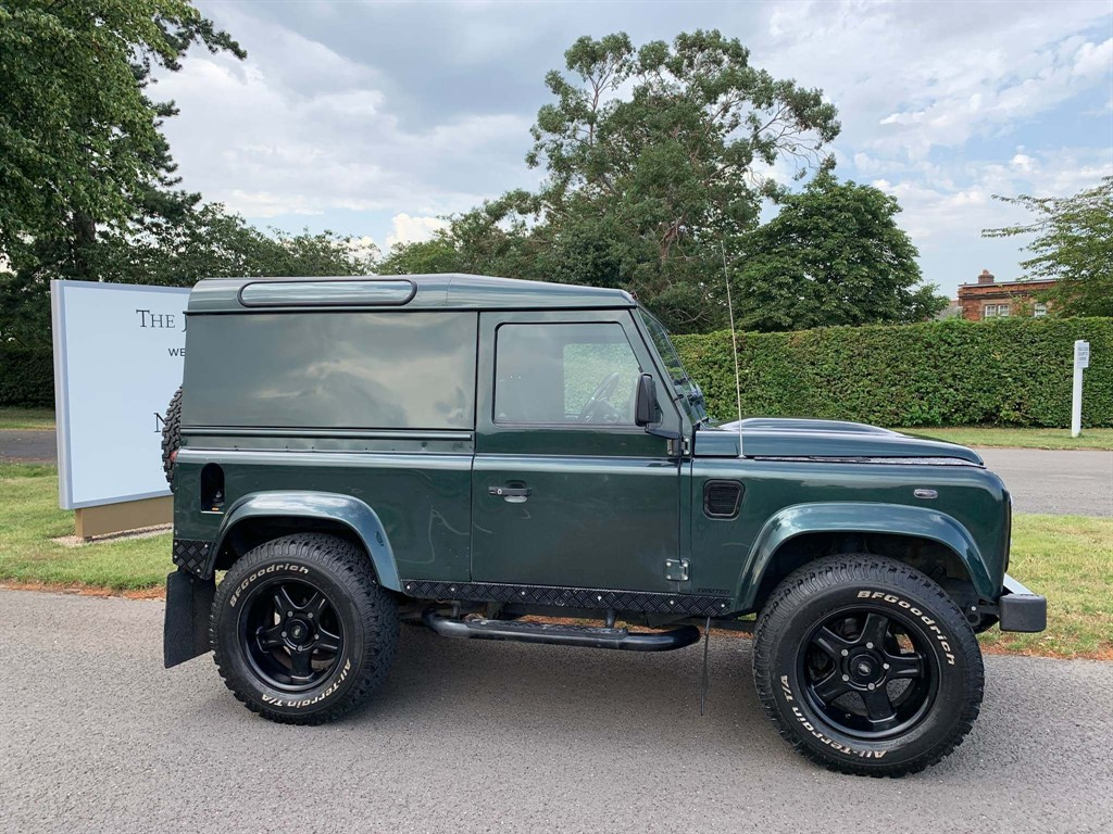 used Land Rover Defender 90 TDi County Hard Top 3dr in newmarket-suffolk