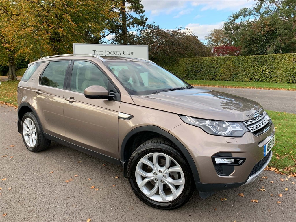 used Land Rover Discovery Sport TD4 HSE 4WD (s/s) 5dr in newmarket-suffolk