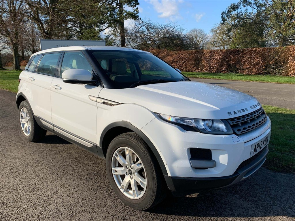 used Land Rover Range Rover Evoque Pure Tech AWD in newmarket-suffolk